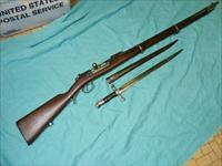 Model 1886 Steyr Rifle with BAYONET