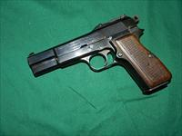 FN BROWNING P35 HI-POWER PRE WAR