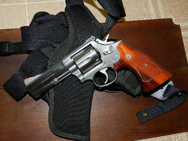 S&W 686-1 REVOLVER .357 WITH HOLSTER for sale