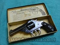 IVER JOHNSON BLUE 38 TOP BREAK BOXED