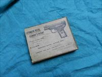 RARE CLEMENTS AUTOMATIC PISTOL BOX
