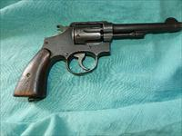 S&W VICTORY .38 CAL. LEND LEASE REVOLVER