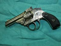 IVER JOHNSON ENGRAVED TOP BREAK .32 S&W