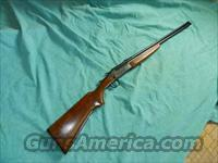 SAVAGE MODEL 24 O/U .22LR AND .410