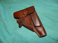 GERMAN WWII HOLSTER SAUER 38, FN 1910,MAUSER HSC, WALTHER PP