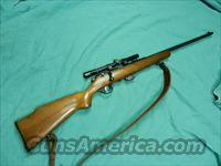 MARLIN 80 RIFLE BOLT ACTION SCOPED