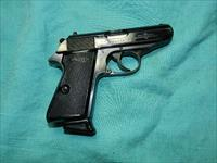 WALTHER PPK/S BLUE 1974 MADE .380