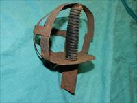 BASKET HILT SCOTTISH SWORD RELIC
