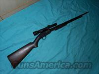 WINCHESTER MODEL 61 PUMP SCOPED