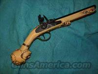 FLINTLOCK PIRATE PISTOL .45 CAL