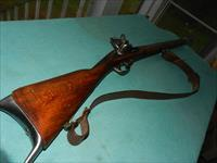 BELGIAN LARGE BORE FLINTLOCK TRADE GUN