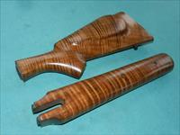 COLT SHARPS CUSTOM TIGER MAPLE STOCKS