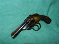IVER JOHNSON BLUE .32 S&W REVOLVER