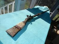 PIRATE FLINT DECORATED MUSKET .75CAL.