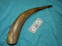 LARGE MASTER POWDER HORN