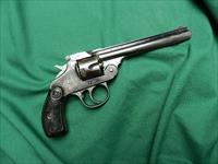 IVER JOHNSON .32 BLUE TOP BREAK REVOLVER