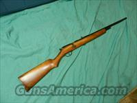 STEVENS UNUSUAL BOLT ACTION .22 RIFLE