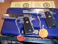 Colt Gold Cup Trophy A Pair Serial# SEQ. .45 acp New Stainless Steel.