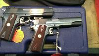 Colt Gold Cup National Match Trophy Pair in Serial # Sequence. New .45 acp