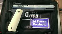 Ed Brown Custom Classic with special grips .45 acp.   No Credit Card or shipping Charge.