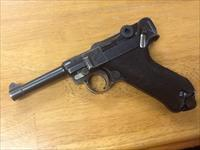Beautiful 3 digit pre war DWM commerical Luger 30 cal. 4in