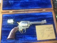 Ruger Roy Rogers king of the Cowboys single six commerative 1987 manf nib unfired