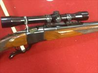 Real clean ruger #1  no.1 in 30-06 with leupold scope