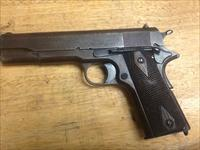 85% cond Vet bring back all ORIGL. WW1 colt 1911 manf 1918 carried in ww1 & in ww2 by his son