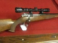 Custom FN commercial Mauser action 270 cal with 3x9 scope