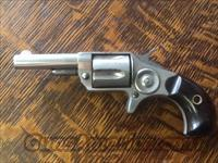 VEry nice clean all original colt new line 32 rf. nickel plated