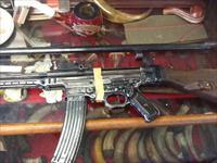 Early saw cut stg44 mp44 ww2 German parts set complete