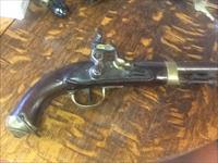 Nice all orig. sea service , calvery pistol flintlock. 69 cal rev war era.