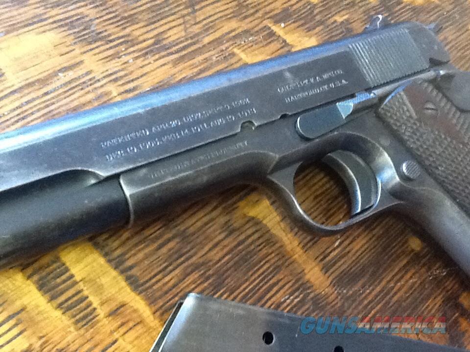 RARE. 1914 manf colt 1911 ww1 45acp. All origin... for sale M1911 Pistol Ww1