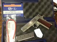 As new in box colt series 80 light weight lw commander stainless