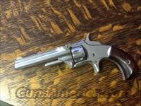 MINTY SMITH & WESSON MODEL 1 NICKEL 22 SHORT ALL ORIGL