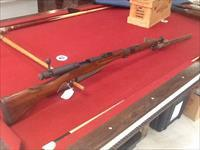 Ww2 marine vet. Bring back Japanese ARISAKA with mum complete strap and bayonet battle damaged with history