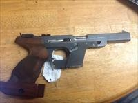 Beautiful walther osp 22 short Olympic target gun ported with adj grips