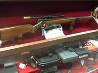 Very nice MOSSBERG 42m with period scope and factory RECIEVER sight all origl
