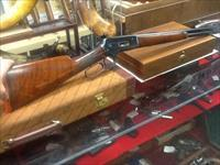 Special order semi deluxe Winchester model 1886 45-90 22in brl deluxe wood RECIEVER sight rob full mag
