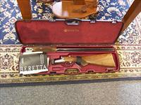 "Beretta 486 12ga. 30"" Parallelo round action side x side"