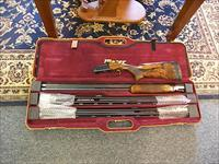 "Blaser F-3 12ga./,20ga./28ga., 32"" Black Bonzi Scroll Edition Sporting"