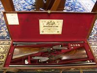 Henry Atkins (from Purdey's) Matched Pair of sidelock doubles
