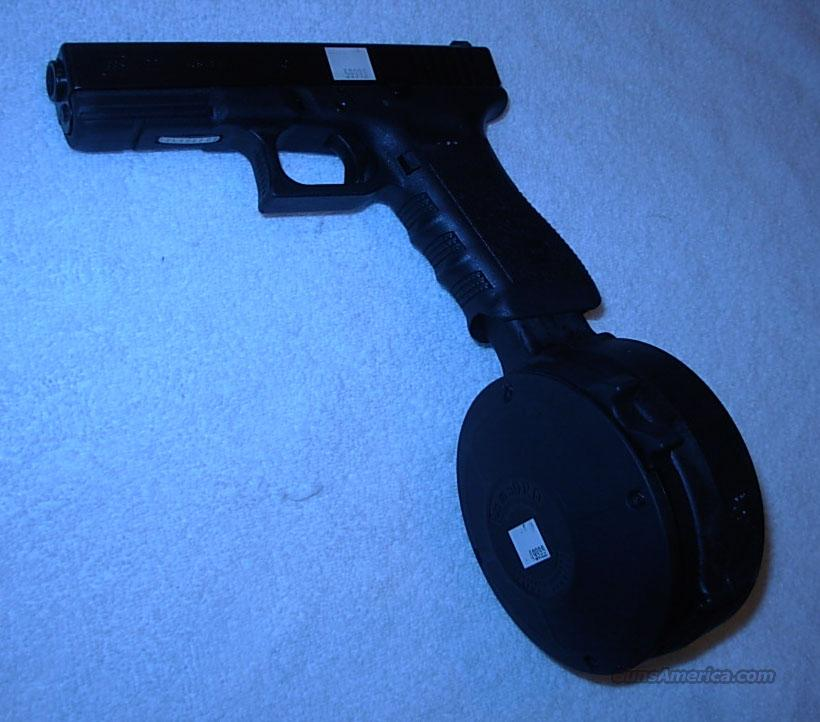 50 ROUND DRUM *** FITS GLOCK 26, 19 & 17 *** $60 00 WITH FREE SHIPPING!!!  CREDIT CARD SAME AS
