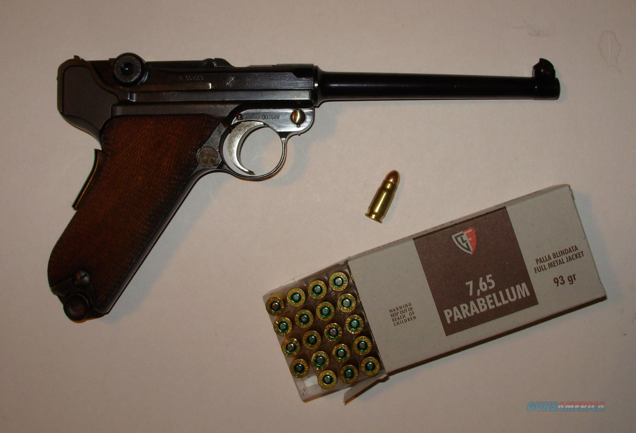 AMERICAN EAGLE *** 7 65 LUGER CALIBER *** MADE BY MAUSER *** AS NEW $999 00  WITH FREE SHIPPING!!!!