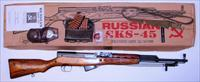 RUSSIAN SKS PACKAGE **  LAMINATED ** SPRING LOADED FIRING PIN ** NO REFURB MARKS  **  MATCHED NUMBERS  **  $899.00 WITH FREE SHIPPING!!!