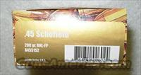 .45 SCHOFIELD * FACTORY NEW *** $50.00 WITH FREE SHIPPING!!!! CREDIT CARD SAME AS CASH!!!!