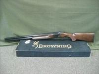 Browning GTI Sporting 12ga Fired Very Little