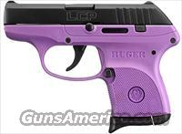 Ruger LCP-PG .380 ACP, Purple Frame!