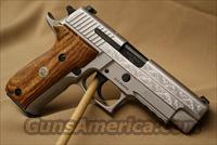 Sig Sauer p226 Stainless steel engraved 9mm