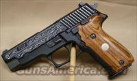 Sig Sauer p226 engraved 9mm